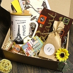 """Подарочный набор в коробке """"Париж"""" z2"""