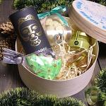 """Новогодний Подарочный набор в деревянной коробке """"С Новым Годом"""" Галапагос"""