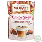 Капучино Mokate Caffetteria Candy Shop Cafe Latte American Brownie, 110г.