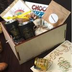 """Подарочный набор в деревянном ящике """"Coffee Men"""""""