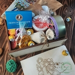 Подарочный набор в деревянном ящике