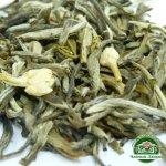 Белый элитный чай Серебряные иглы с жасмином