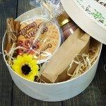 Подарочный набор в деревянной коробке Нежность