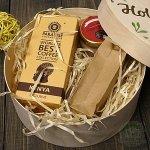 Подарочный набор в деревянной коробке Кения