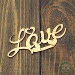 Слово из фанеры Love 10*5 см