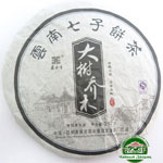 Чай пуэр Шен Da Shu Qiao 2008 года 357 гр