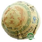 Чай пуэр прессованный Шен слабоферментированный 2008 г