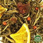 Белый ароматизированный чай Сила
