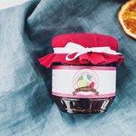 Малиновый конфитюр с апельсином и вермутом