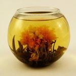 Вязаный чай Цветок богатства