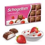 Шоколад молочный Schogеtten Yoghurt-Strawberry (с Клубничным йогуртом)