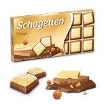Шоколад молочный Schogetten Trilogia (с орехами)