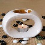 Парафиновая свеча в алюминиевом футляре