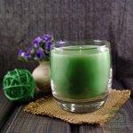 """Ароматическая свеча Shein Candles """"Яблоко"""" в стеклянном стакане"""