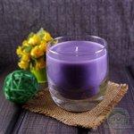 """Ароматическая свеча Shein Candles """"Черная смородина"""" в стеклянном стакане"""