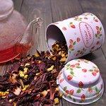 Фруктовый чай Вишневый пунш
