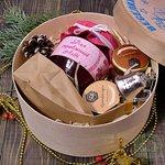 """Новогодний Подарочный набор в деревянной коробке """"С Новым Годом""""  Для справжньої Леді"""