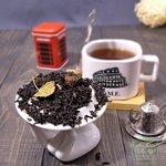 Черный чай Земляника со сливками
